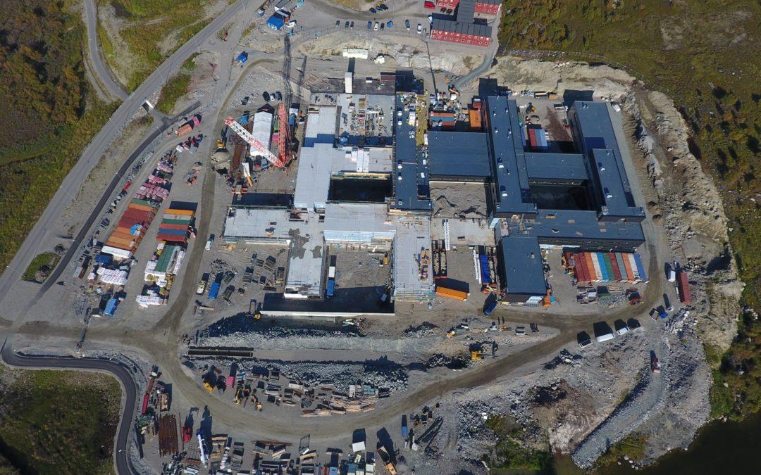 Nye Kirkenes Sykehus – Grunn- og Utomhusarbeider